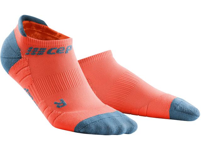 cep No Show Socks 3.0 Mujer, coral/grey